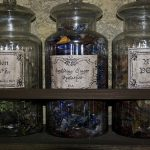 Bottles Herbs Jar Magic Favim Glass Storage Containers