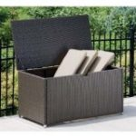 Outdoor Furniture Cushions Wicker Storage Trunk Design