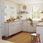 Stripes Kitchen Rugs for Hardwood Floors